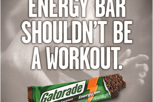 Sports Energy Bar Ad