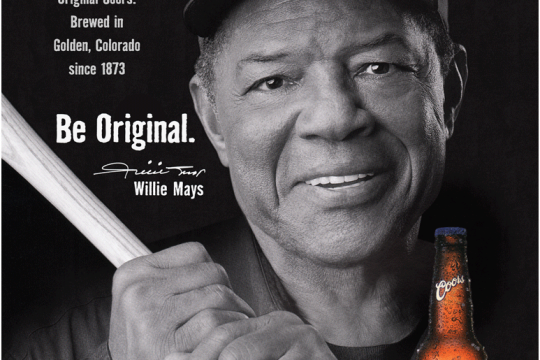 Be Original-Willie Mays