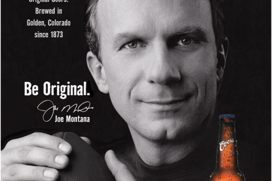 Be Original-Joe Montana