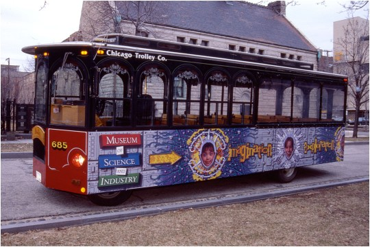 Museum Trolley Wrap