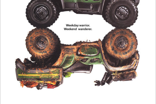 Deere ATV Ad