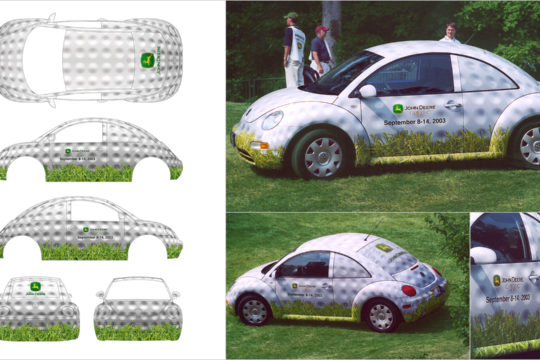 Golf Event VW Wrap