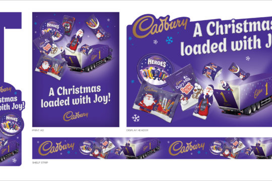 Cadbury Holiday Campaign