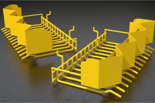 3D Product Display Rack